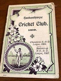 Hackenthorpe Cricket Club