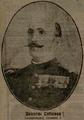 1913 - General Dumitru Cotescu, comandantul Corpului II Armata - sursa ziarul Adevarul din 22 iunie 1913.PNG