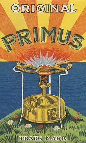Primus stove - Primus stove advertising poster
