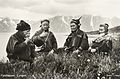 1928 Lyngen Troms Norway group Mountain Sami people Photo pcard.jpg