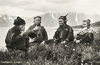 Sami people - Sami people, in Norway, 1928