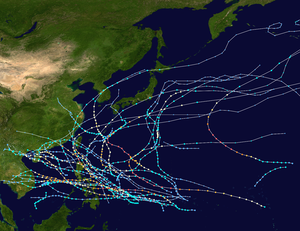 1952 Pacific typhoon season summary map.png