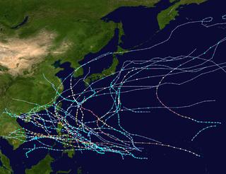 1952 Pacific typhoon season typhoon season in the Pacific Ocean