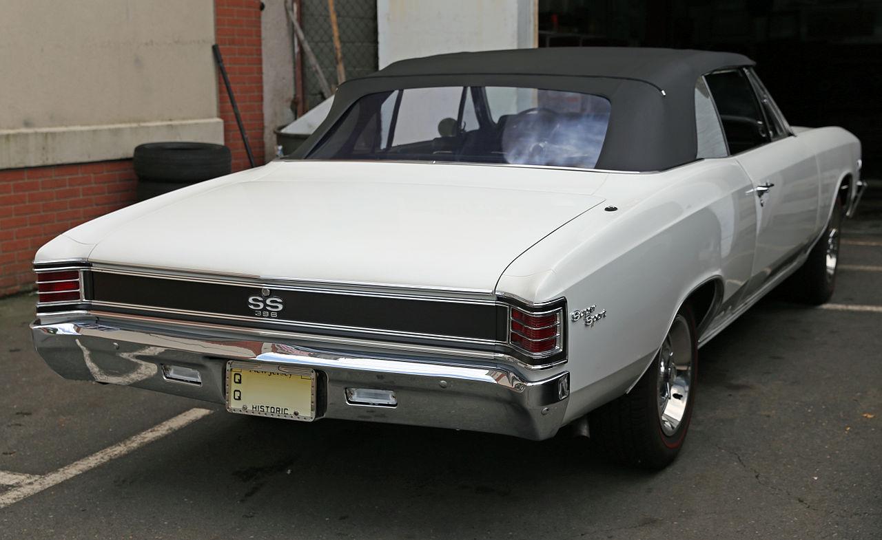 1967 chevrolet chevelle ss 396 2 door hardtop front 3 4 44313 -  2 Door Hardtop Rear 3 4 161524 1000x750 1967 Chevrolet Chevelle Ss 396 Barrett Jackson Auction Company 1000x600 Original