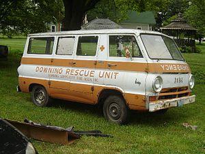 Dodge A100 - Image: 1968 Dodge A 100 Van