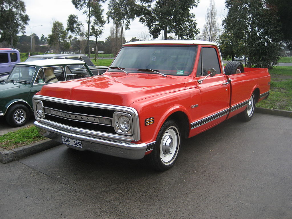 1969 Ford F100 Grille4330712190 74a56cb163 Z Zz1 No Reserve Ranger Camper Special File 1970 Chevrolet C10 Pickup Wikimedia Commons