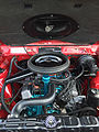 1971 AMC Hornet SC-360 compact muscle car in red at AMO 2015 meet 5of5.jpg