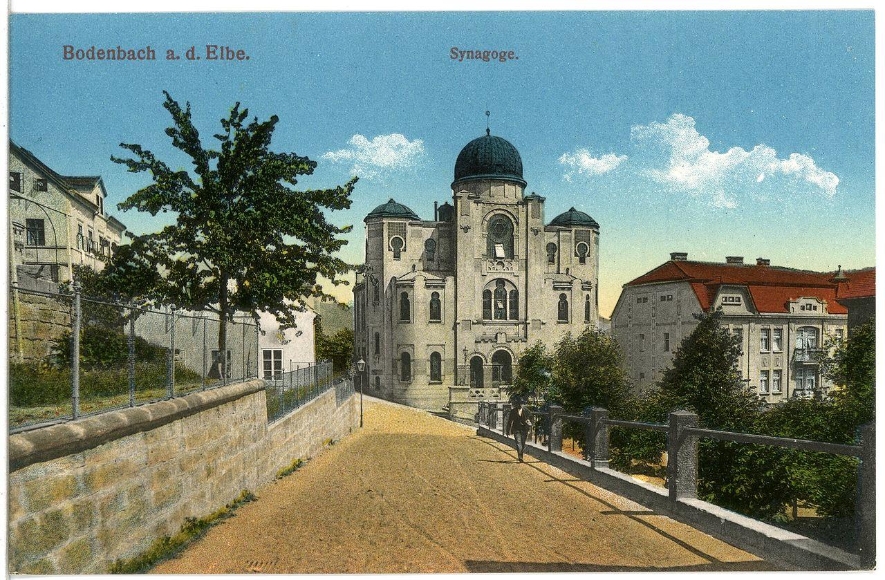 19785-Bodenbach-1915-Synagoge-Brück & Sohn Kunstverlag.jpg
