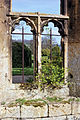 1992 Sudeley Castle ruins window Gloucestershire, England.jpg