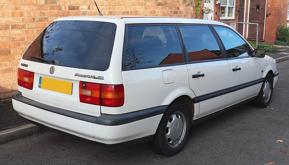 1995 Volkswagen Passat Variant CL TD Umwelt 1.9 Rear