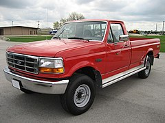 Ford F-Series IX model F-250