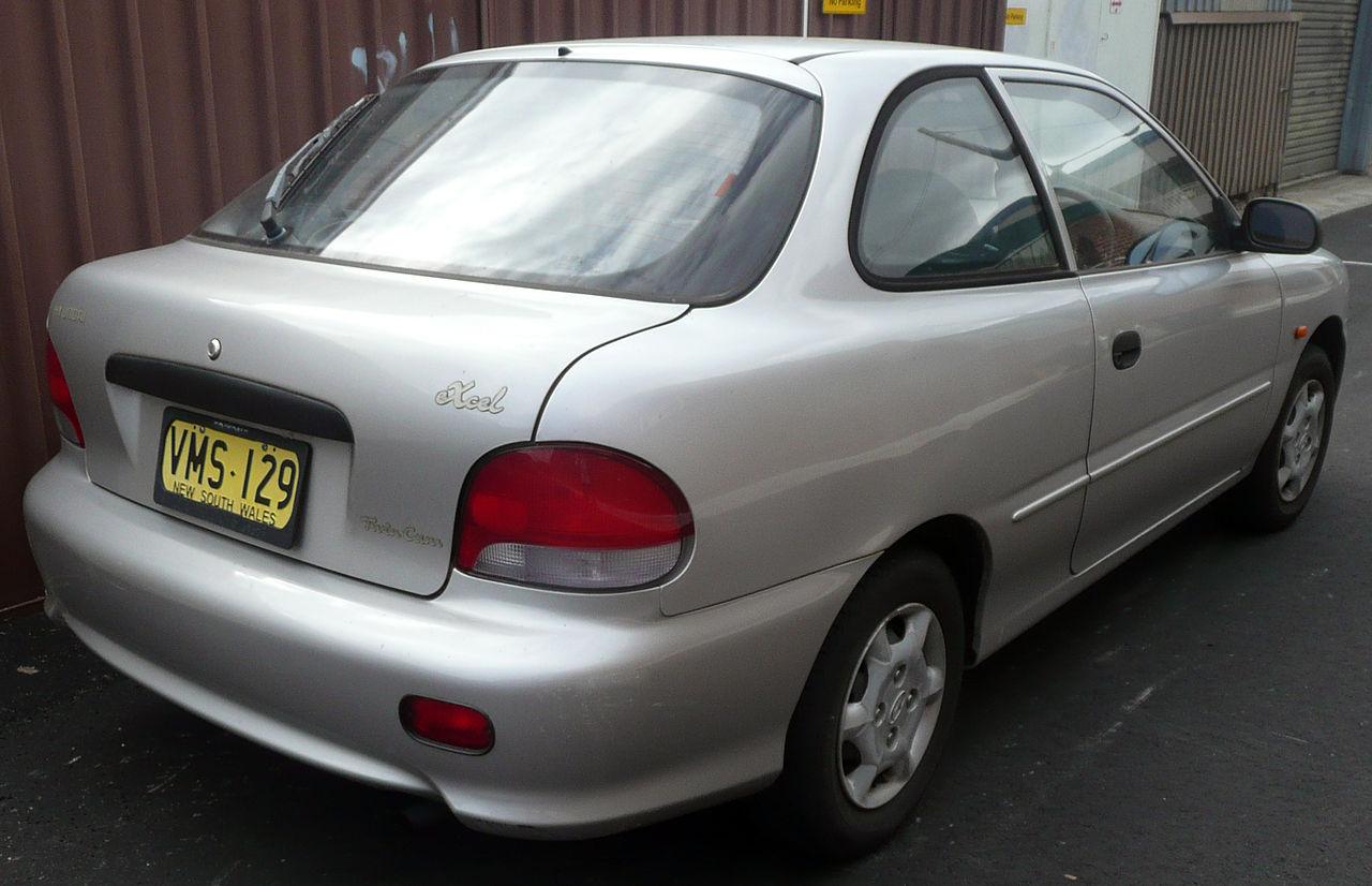 File 1998 Hyundai Excel  X3  Sprint 3-door Hatchback  2008-11-16  Jpg