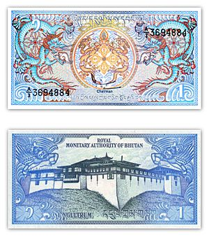 Royal Monetary Authority of Bhutan - Bhutanese ngultrum