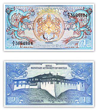 Royal Monetary Authority of Bhutan - Bhutanese ngultrum