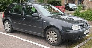 Volkswagen Golf Mk4 - Image: 2002 Volkswagen Golf T Di 1.9 Front