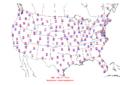 2006-07-06 Max-min Temperature Map NOAA.png