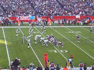 2006–07 NFL playoffs - New England vs. New York Jets in the wild card playoff game