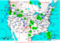 2007-02-12 Surface Weather Map NOAA.png