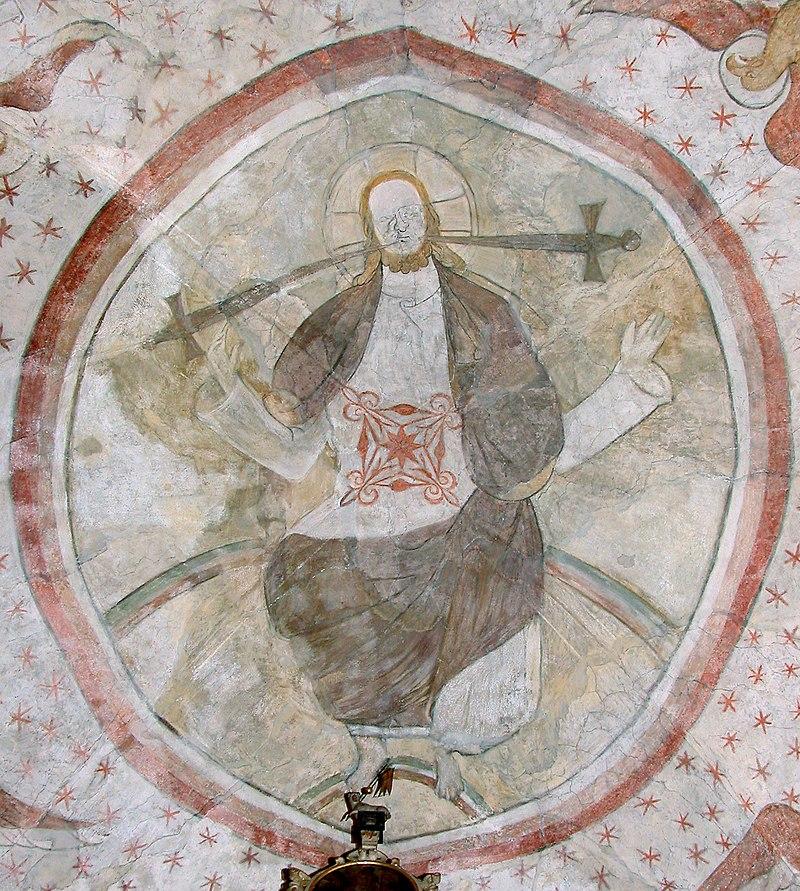 20070803035DR Meißen-Zscheila Trinitatiskirche Deckenfresko.jpg