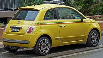 Fiat 500 (2007) - Pre-facelift Fiat 500 (Australia)