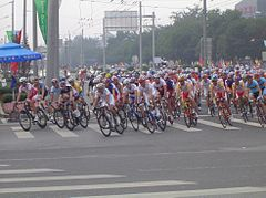alt=Description de l'image 2008 Olympic cycling road race men.JPG.