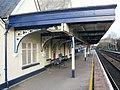 2009 at Gillingham station - platform canopy.jpg