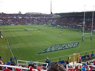 Sport in Italy - The Stadio Flaminio during a rugby union match in the 2011 Six Nations Championship, between Italy and France, which resulted in an upset victory for Italy.