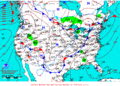 2012-01-07 Surface Weather Map NOAA.png