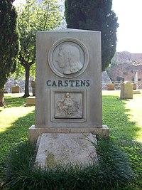 2012-09-09 Grave of Carstens.jpg