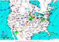 2013-07-09 Surface Weather Map NOAA.png