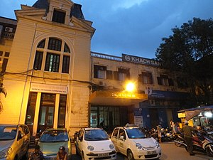 Hanoi railway station - Old part of Hanoi Railway Station