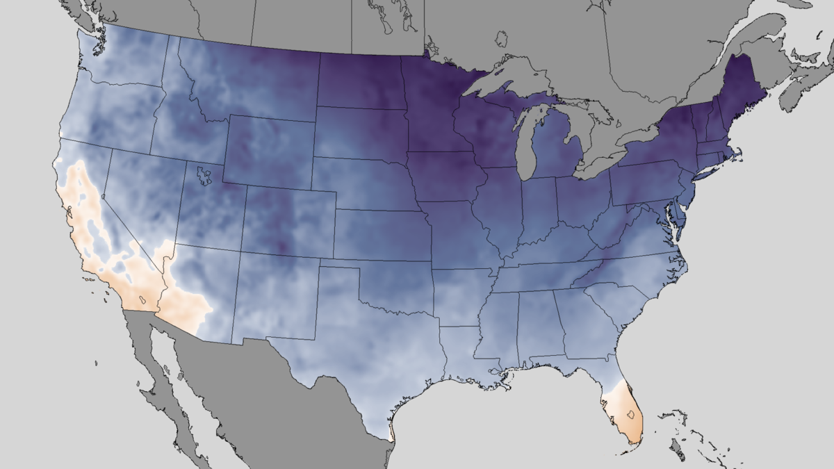North American Winter Wikipedia - Us fronts map before ice storm