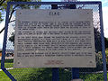 2014-09-21 14 56 41 Historic marker for Elko, Nevada at the Elko main city park.JPG