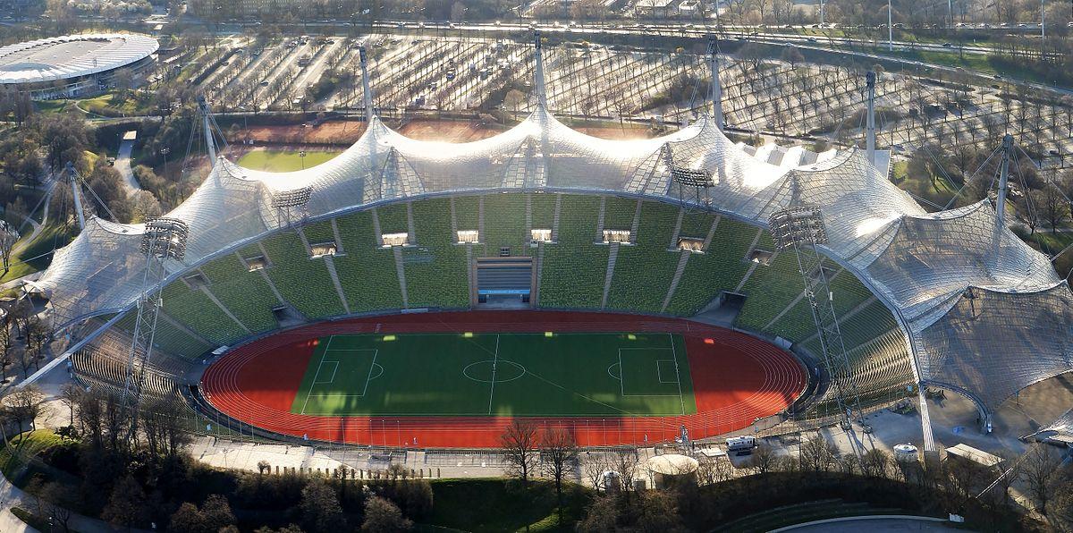 Faßungsvermögen Olympiastadion München