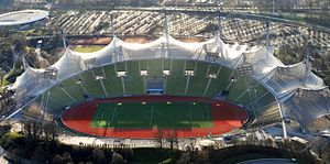 Football at the 1972 Summer Olympics - Image: 2014 Olympiastadion Munich
