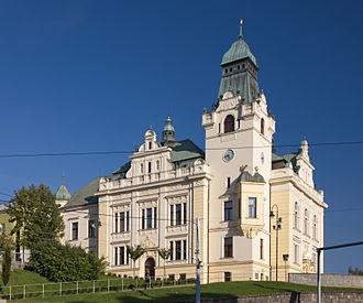 Slezská Ostrava - Town hall of Slezská Ostrava