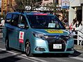 2015 Hakone Ekiden Team support car Esquire.jpg