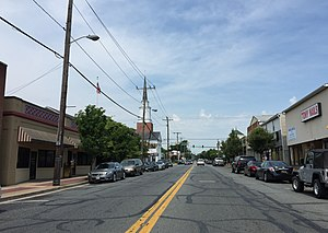 Aberdeen, Maryland - Bel Air Avenue in downtown Aberdeen.