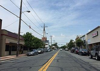 Aberdeen, Maryland - Bel Air Avenue in downtown Aberdeen.