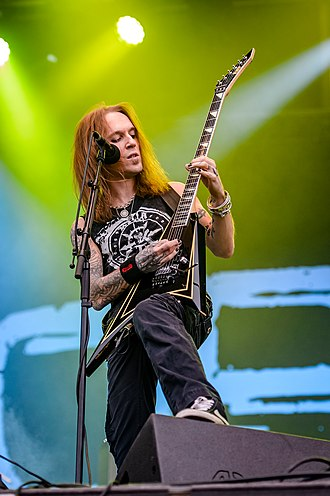 Alexi Laiho - Alexi Laiho performing at Rockharz Open Air 2016