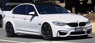 BMW M3 - Image: 2016 BMW M3 (F80) sedan (2017 11 18) 01