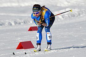 20190226 FIS NWSC Seefeld Ladies CC 10km Tetiana Antypenko 850 4468.jpg