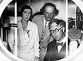 20 août 1932 - Le Soir Illustré - le roi Albert, la reine Elisabeth et Auguste Piccard.jpg