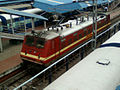 22663 WAP-4 locomotive at Visakhapatnam Railway Station.jpg