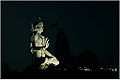 2 A Shiva statue at dusk in front of Nageshwar temple Gujarat.jpg