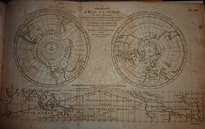 Encyclopædia Britannica Second Edition - Map of the world in Geography article