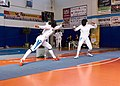 2nd Leonidas Pirgos Fencing Tournament. Lunge by Irini Mavrikiou.jpg