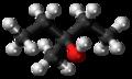 3-Methyl-3-pentanol molecule ball.png