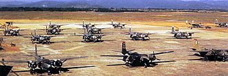 Kunsan Air Base - B-26Bs of the 3d Bomb Wing