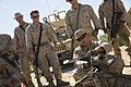 3rd Battalion 3rd Marines, convoy training, Marine Corps Base Hawaii, M2 .50 caliber machine gun, Weapons and Tactics Instructor course 141012-M-NB398-003.jpg